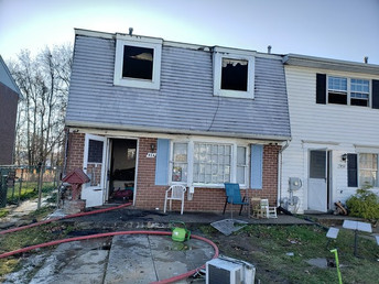 10 People Displaced in Harford County Due To Juvenile Fireplay