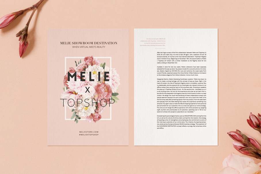 Melie x Topshop