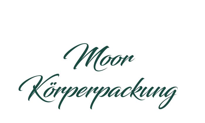 Moor-Körperpackung