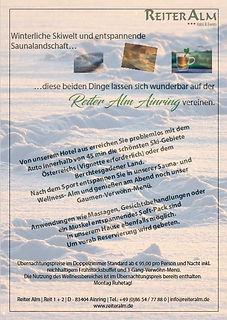 Reiter Alm Wellness & Ski
