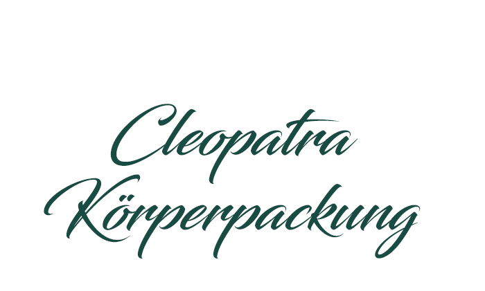 Cleopatra-Körperpackung
