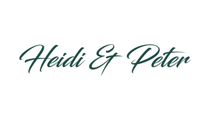 Heidi & Peter