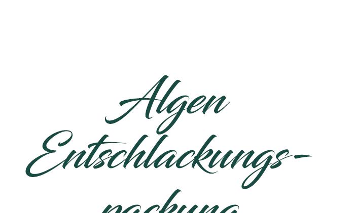Algen-Entschlackungspackung