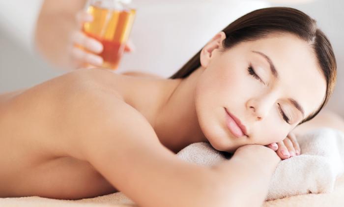 Teilkörper-Honigmassage