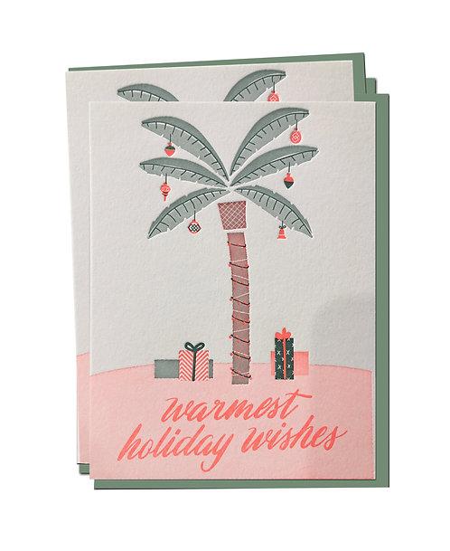 Christmas Palm Box