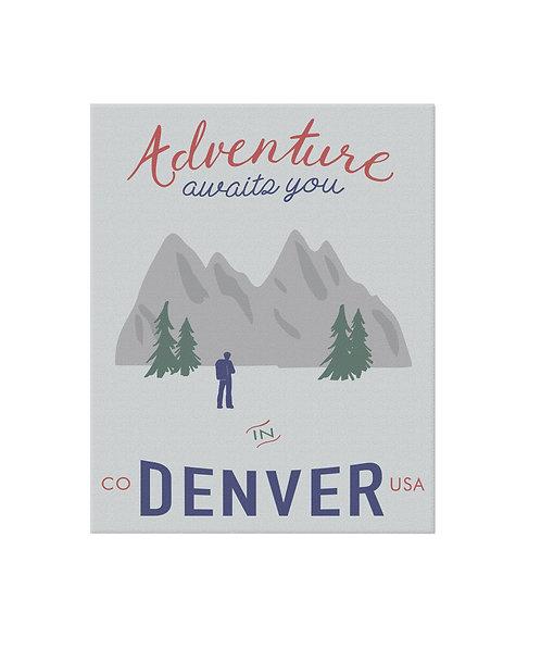 Adventure Denver Print