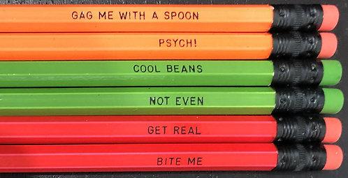 80s Pencil Set
