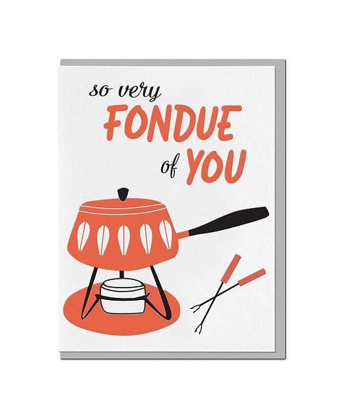 Fondue of You