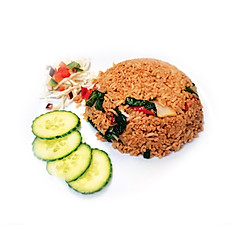 10.Kao Pad Kra Pow (ข้าวผัดกระเพา)