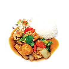 28.Pad Nam Mon Hoy Pak (ผัดผักน้ำมันหอย)