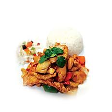 16.Pad Med Ma Maung Kai Tord (ผัดเม็ดมะม่วงหิมมะพานไก่)