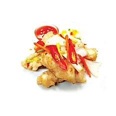E.Tagarashi Pepper Squid (5) (ปลาหมึกพริกเกลือ)