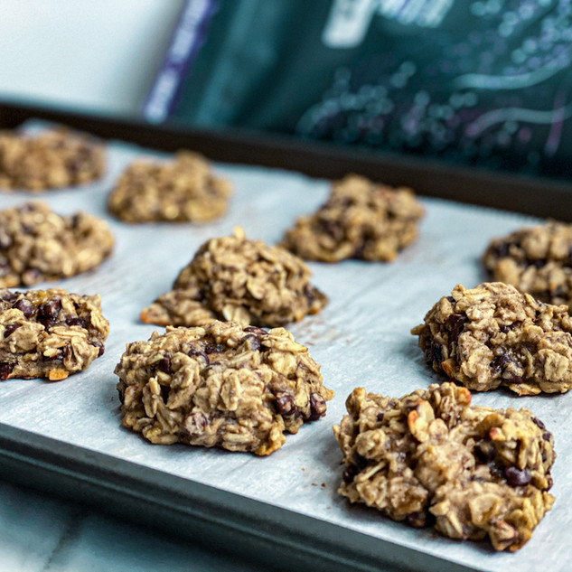 Easy Oat Protein Cookies