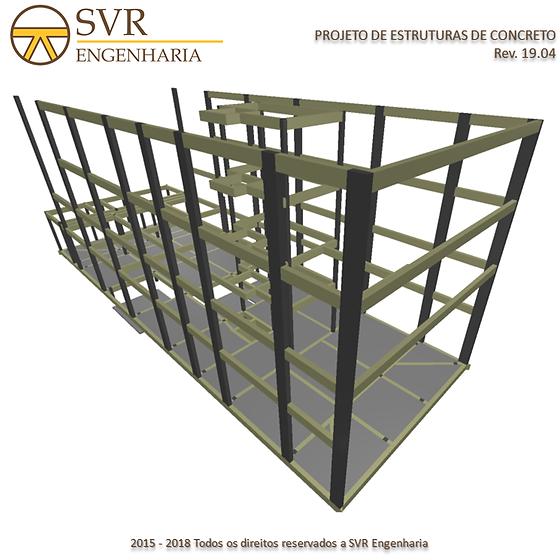 Projeto Estrutural   SVR Engenharia