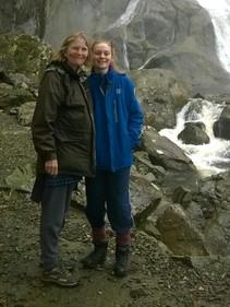 Katy & her mum