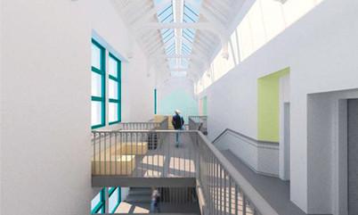 KPC 2nd Floor skylight