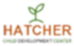 hatcher cdc logo with plant growing from the top of the name