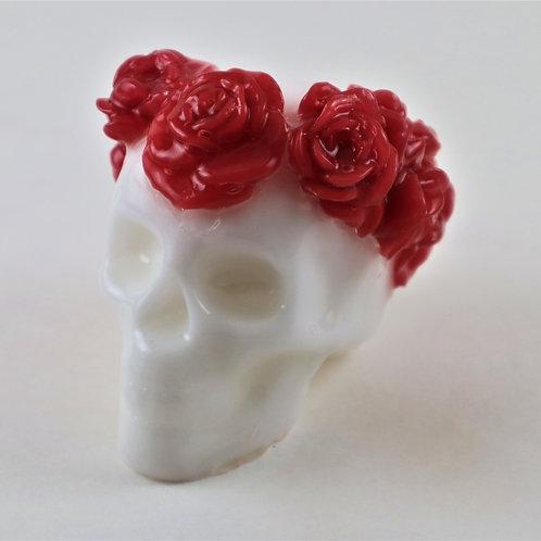Spooky Rosy Skully