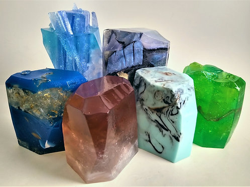 Crystals Rock: Individual Soaps, Collection #1