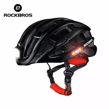 Rockbros Bicycle Helmet with Charging Light