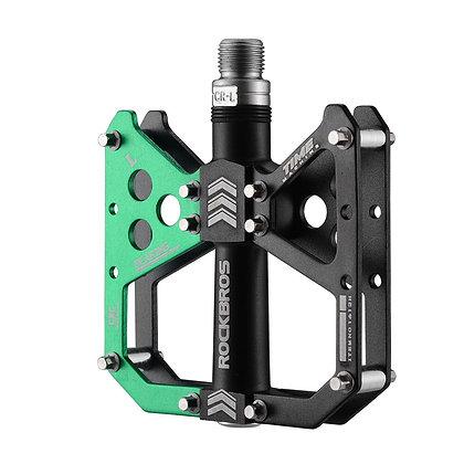 "Rockbros Platform 3 Bearing Pedals MTB 9/16"""