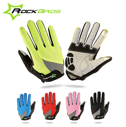 Bicycle Full Finger Smartphone Gloves