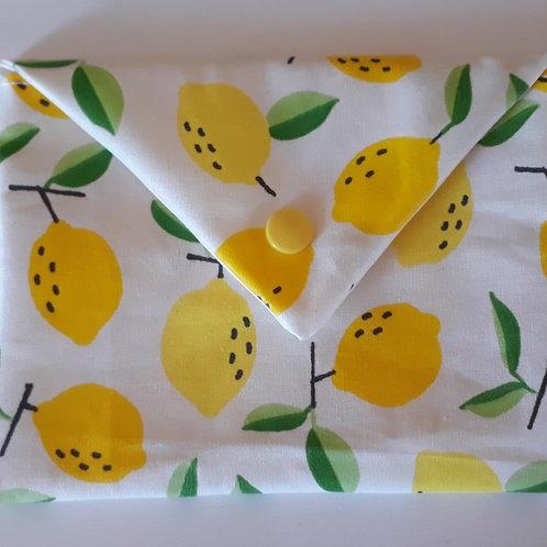 """Pochette à savon """"citrons"""" , """"colorful"""" ou """"St Trop"""""""