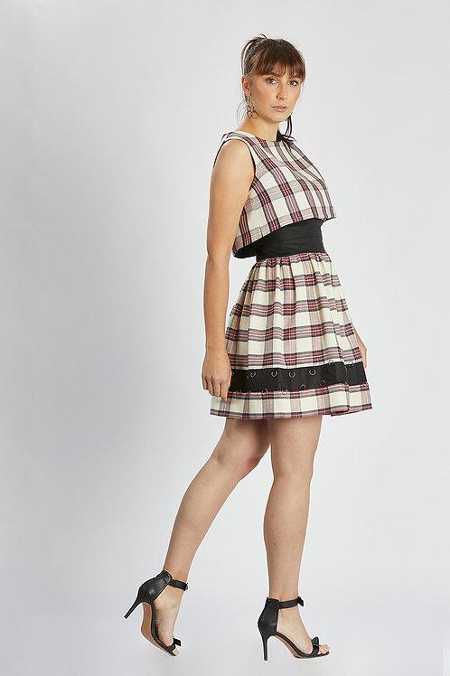 """Kleid (Bluse/Oberteil) """"british checkered dress"""""""
