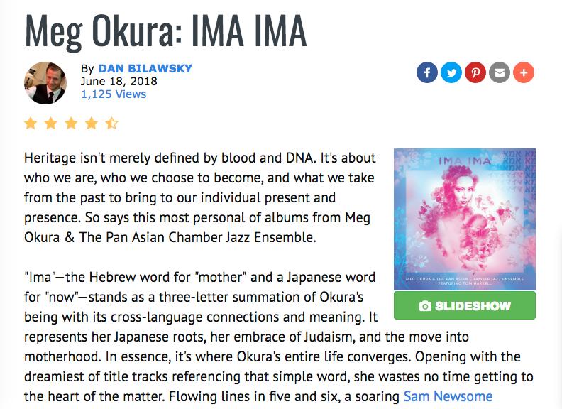 4.5 Star Review of IMA IMA by Dan Bilawsky