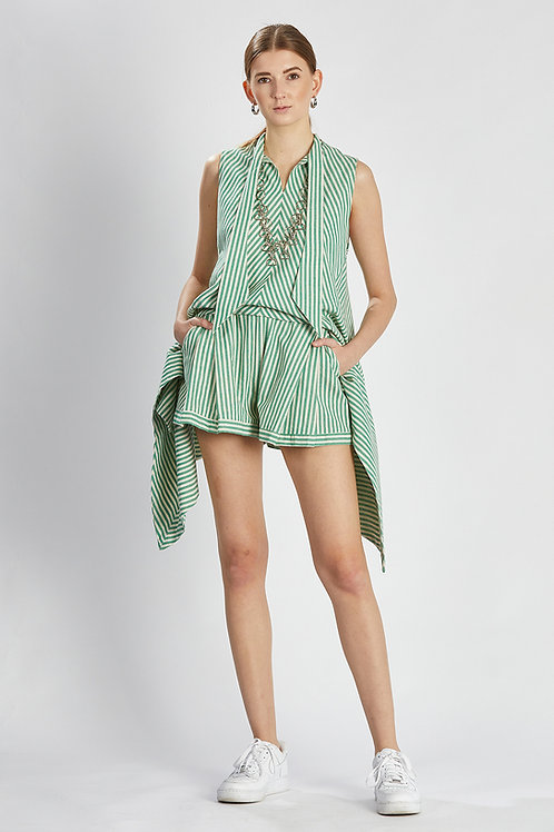 """Bluse mit Shorts """"summer mint outfit"""""""