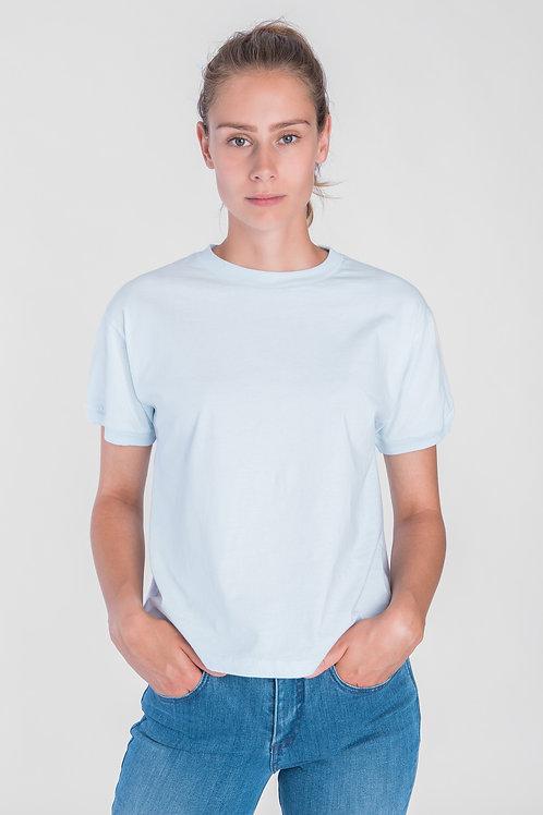 T-Shirt Som hellblau