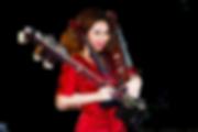 Meg Okura erhu, violin, YAMAHA silent violin