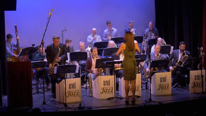 """The BMI/New York Jazz Orchestra will Perform Meg's New Work """"AFRASIA"""" for big band"""