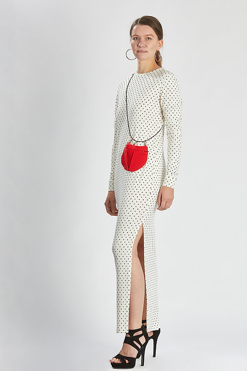 "Kleid ""white sparkling silhoutte dress"""