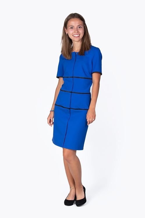 Kleid Siena königsblau