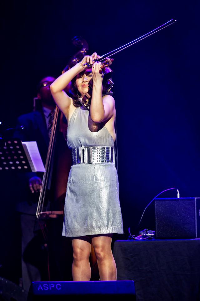 Meg Okura jazz violin