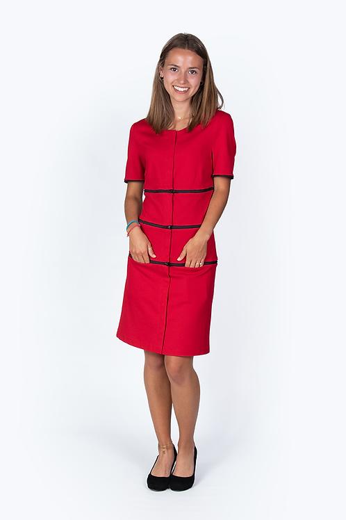 Kleid Siena rot