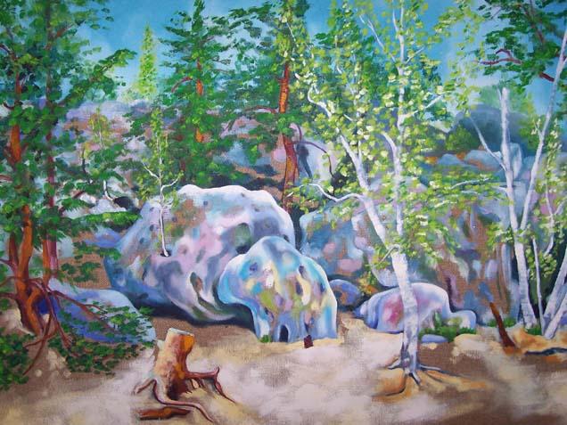 La forêt de Larchant, 2004