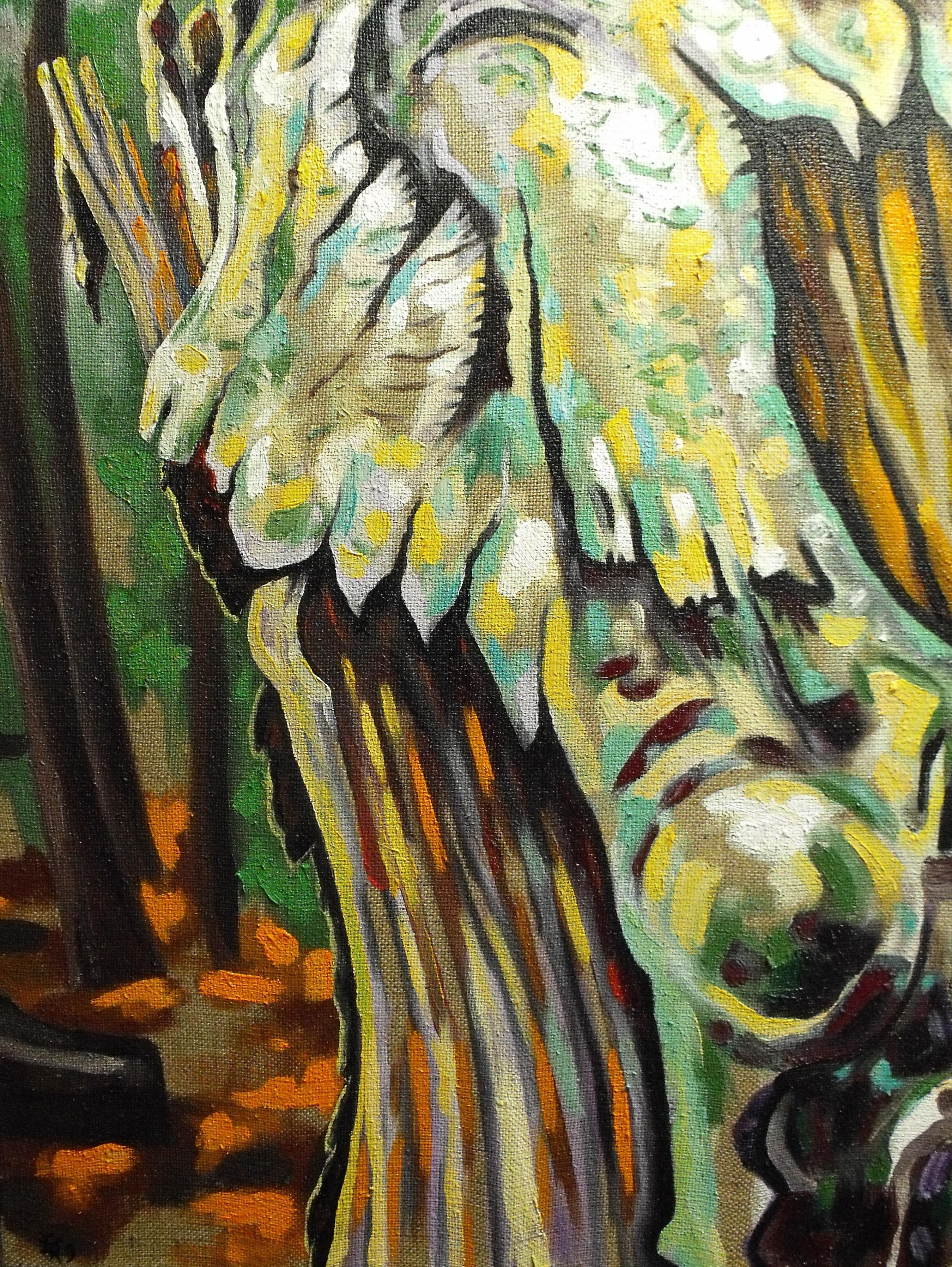 270809, huile sur toile, 2009