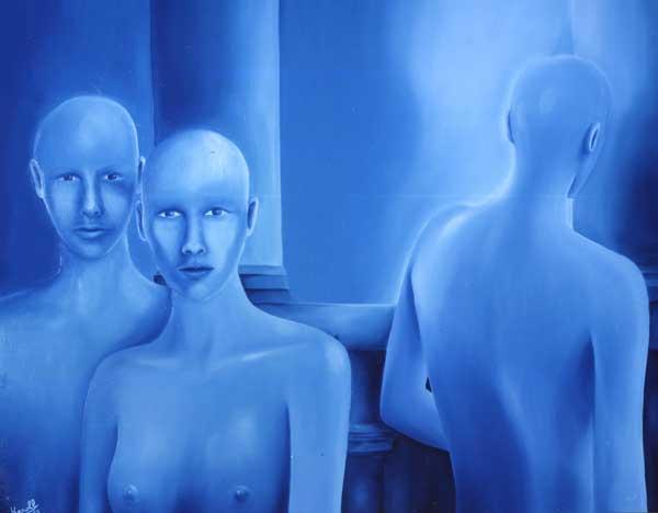 Un monde bleu, 1990