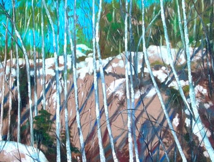 La forêt de bouleaux, 2004