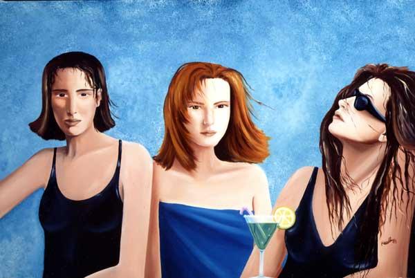 Le Bar de la plage, 1988