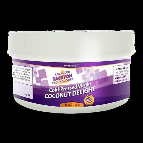 Organic Cold-Pressed Virgin Coconut Delight - 480ml