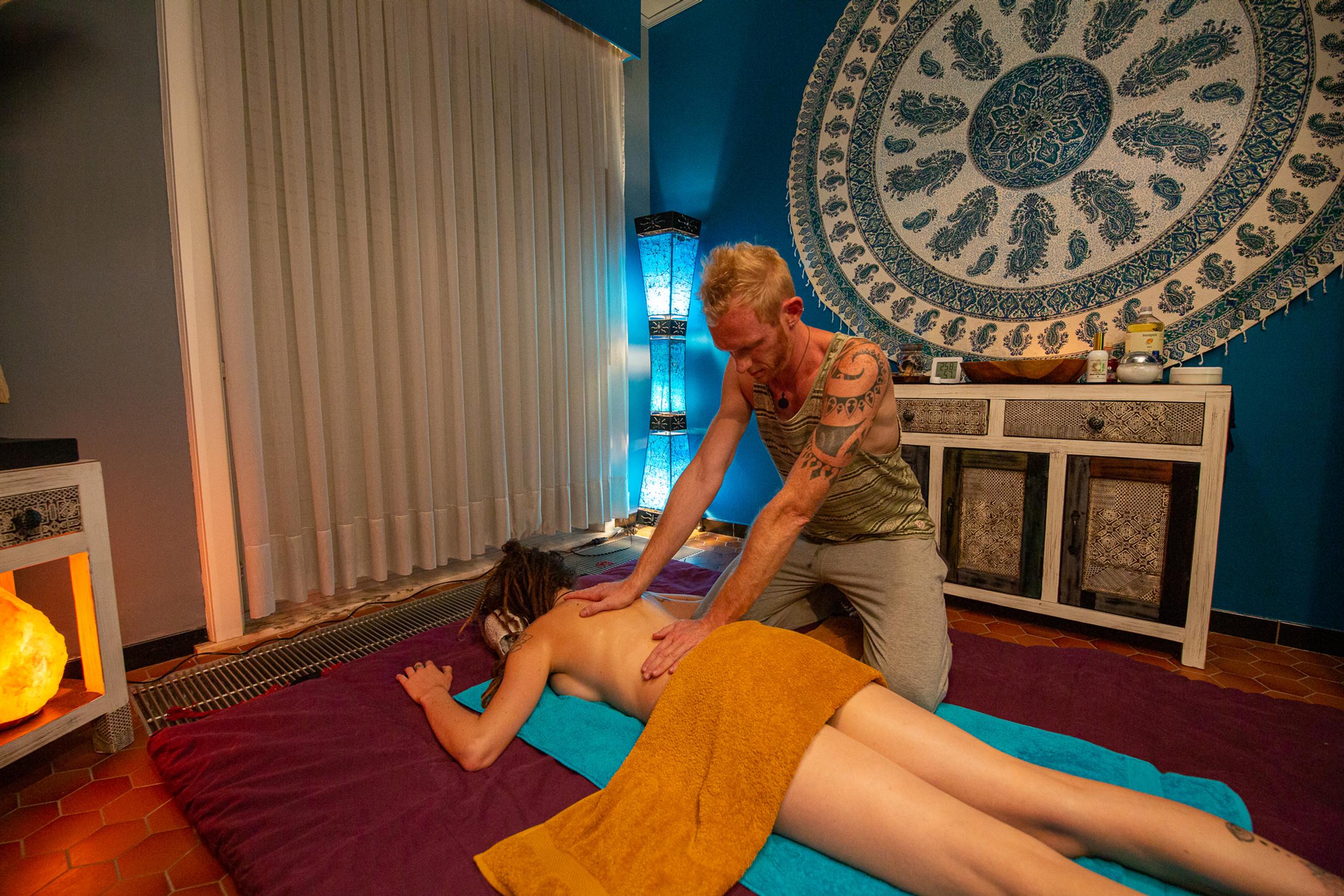 Tantra Massage + Intake