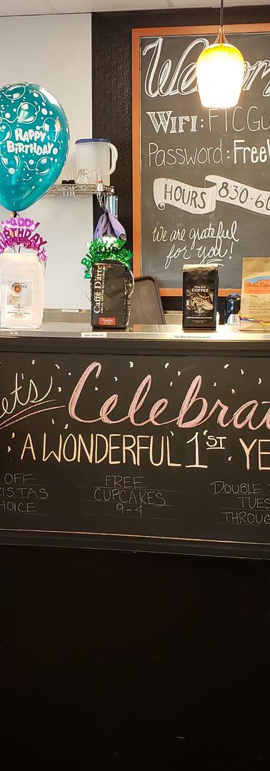 A Wonderful 1st Year!