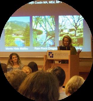 Carolyn Costin speaking photo