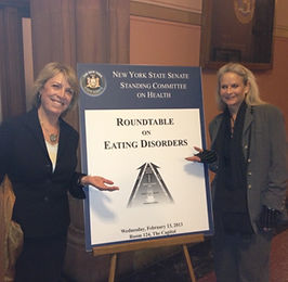 Carolyn Costin roundtable on eating disorders