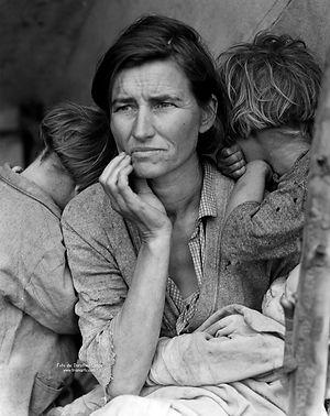 Madre Inmigrante, Dorothea Lange.jpeg