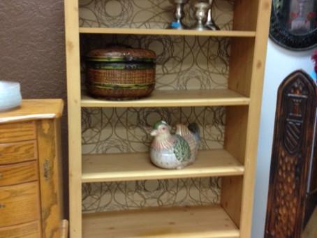 Nice Neutral  Book Shelf...