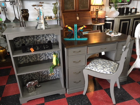 What are you looking for?? Give us a call and see if we have it in stock.. Here is a very nice desk.
